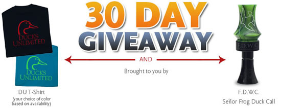 DU 30 Day Giveaway
