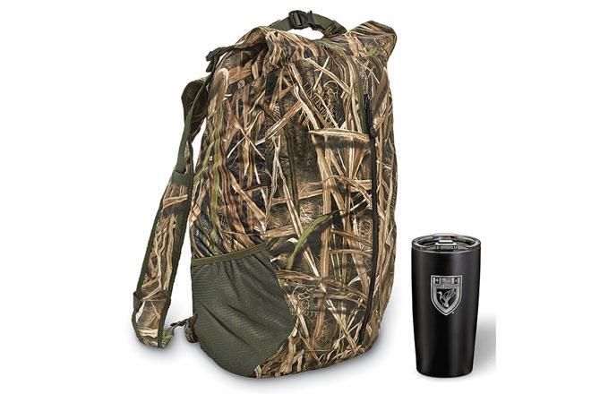 Adventurer Waterproof Backpack and Tumbler