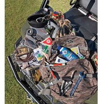 Duck Strap Cell Phone Sungl Multi Tool Choke S And Wrench Binoculars Zip Ties Face Mask Insect Repellent Hand Warmers Earplugs